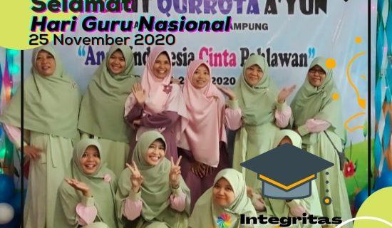 Memperingati Hari Guru Nasional